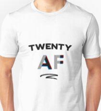 20th Birthday Twenty 20 AF Shirt Gift Turning