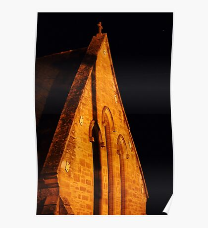 Holy Trinity Anglican Church~ beneath the stars Poster