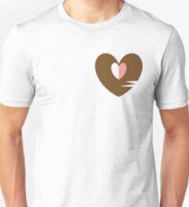 Unhappy Refrain Brown Unisex T-Shirt