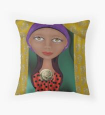 Bohemian Spring Throw Pillow