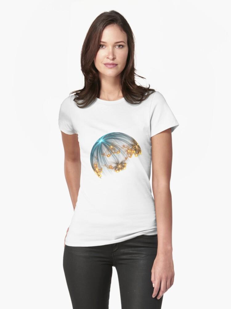 3D Jellyfish t-shirt by NorwegianAngel