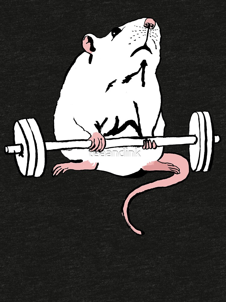 Deadlift Rat by teaandink