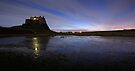 Lindisfarne Castle, Northumberland by David Lewins