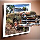 Little Ole Rusty 3D by Shannon Rogers