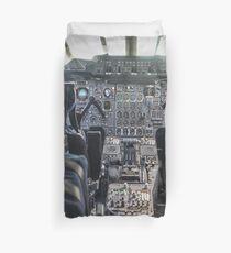 Concorde Flight Deck Duvet Cover