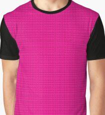 Spring Pink Kuss Grafik T-Shirt