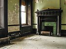 Forgotten Corner Fireplace (Hydro-electric power station, Niagara Falls) by Kendall Anderson