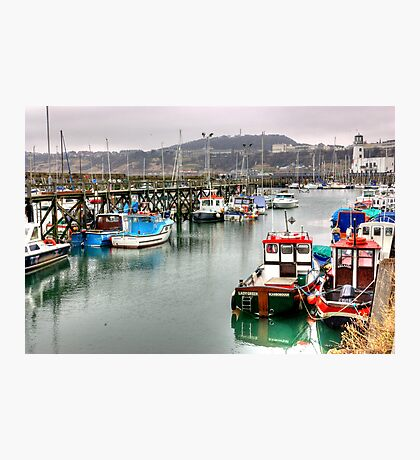 The Harbour ~ Scarborough Photographic Print