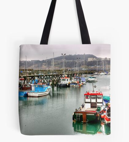 The Harbour ~ Scarborough Tote Bag