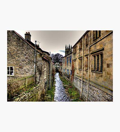 Village Stream Photographic Print