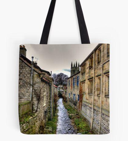 Village Stream Tote Bag