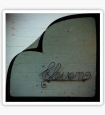 Eleven (Tee) Sticker