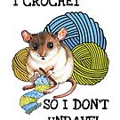 Crocheting Mouse  by Julie Townsend