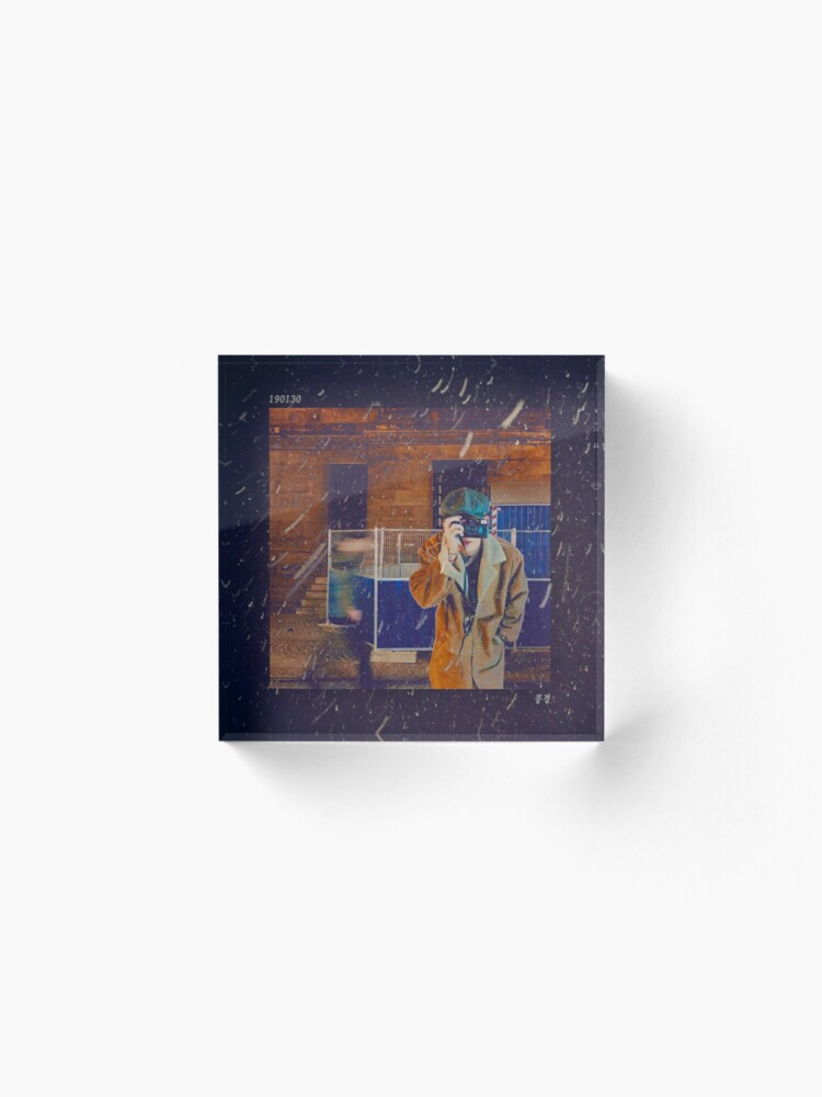 190130 SCENERY: V Soundcloud Song Phone Case (BTS)   Acrylic Block