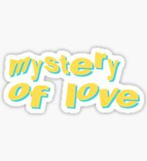 Mystery of Love Sufjan Stevens Song Lyrics Sticker