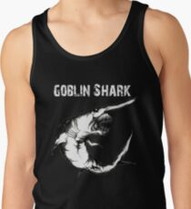 Goblin Shark - Goblin Shark Shirt - Goblin Shark Drawing - Shark - Shark Shirt - Shark Drawing - Marine Biologist Gift Tank Top