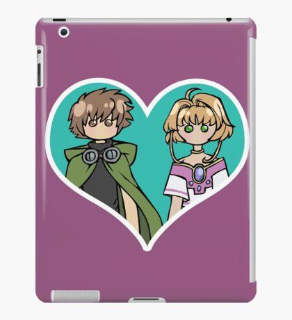 Syaoran and Sakura - shipping dolls iPad Case/Skin