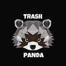 Trash Panda funny design for raccoon lovers  by Angie Stimson