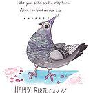 Happy Birdday by ProfessorBees