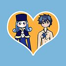 Juvia and Gray - shipping dolls by RainytaleStudio