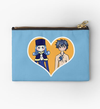 Juvia and Gray - shipping dolls Zipper Pouch