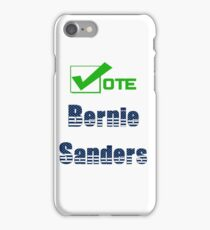 Vote Bernie Sanders Election 2016 iPhone Case/Skin