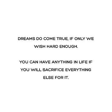 Los sueños se hacen realidad de RoseAesthetic