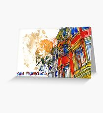 If You're Going to San Francisco... Greeting Card