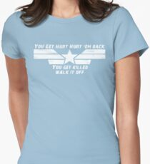 Walk it Off Womens Fitted T-Shirt