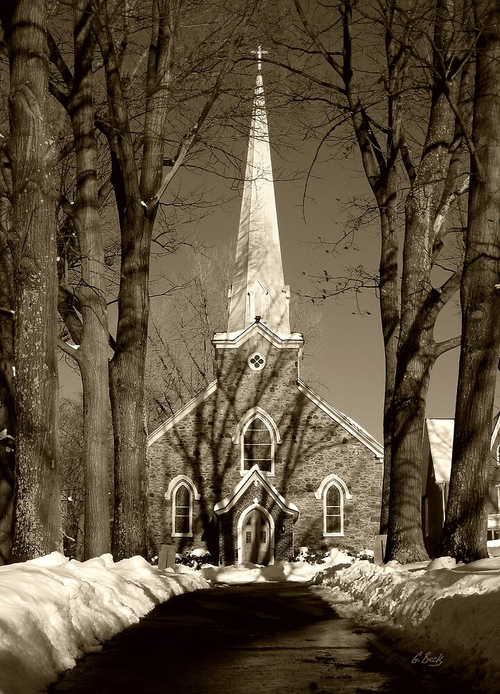 St. Thomas the Apostle Church by Gordon Beck