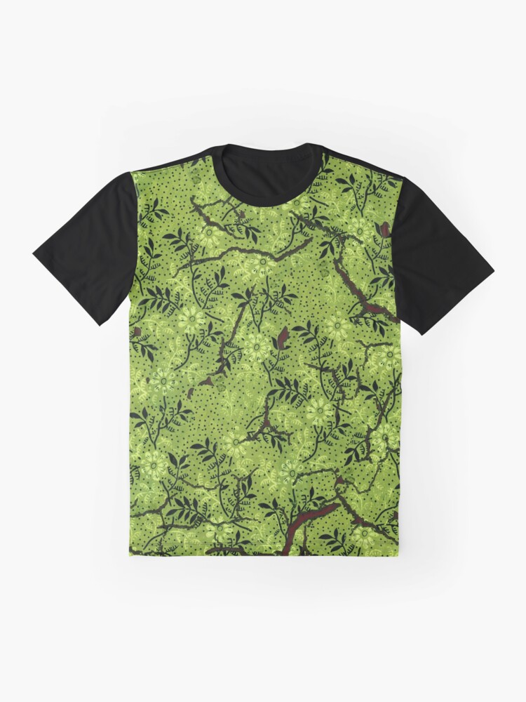 Alternate view of Arsenic Wallpaper  Graphic T-Shirt