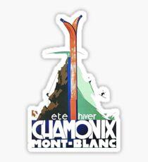 chamonix Sticker