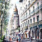 Passeig de Gracia ,Barcelona by LorusMaver