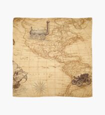 Vintage Map of America Scarf