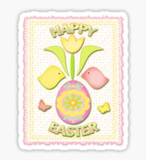 Happy Easter T-Shirt Sticker