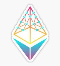EthHub Logo Glossy Sticker