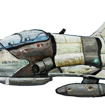 Cute little Hawk Jet by rooosterboy