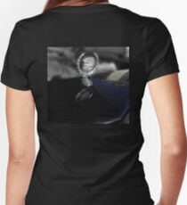 '80 Cadillac Women's Fitted V-Neck T-Shirt