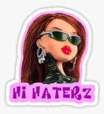 Bratz - Hi Haterz Meme Sticker
