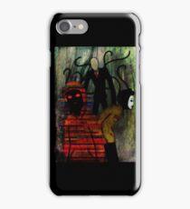 Slenderman, Masky, and Hoodie iPhone Case/Skin