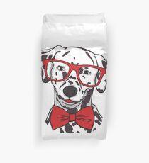 Funda nórdica Dalmatiner Hund Hipster Brille Und Fliege Geschenk