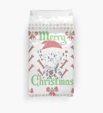 Funda nórdica Dalmatiner Ugly Christmas Hund Lustig Geschenk