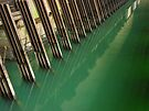 Steel Channels and Green Water (Hydro-electric power station, Niagara Falls) by Kendall Anderson