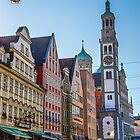 Germany. Augsburg. Architecture. by vadim19