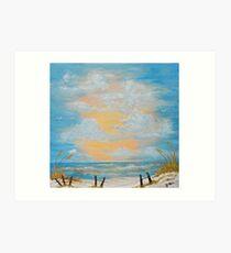 """Serenity in Blue"" Art Print"