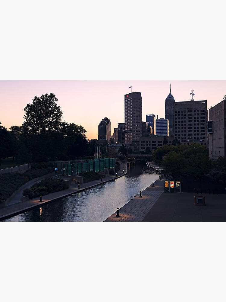 Indianapolis Canal Walk and Skyline by declanlopez