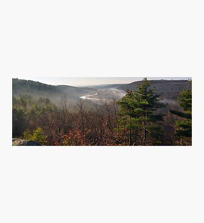 View From Lookout Rock Photographic Print