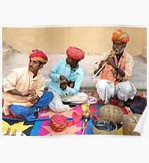 Snake charmers of India Poster