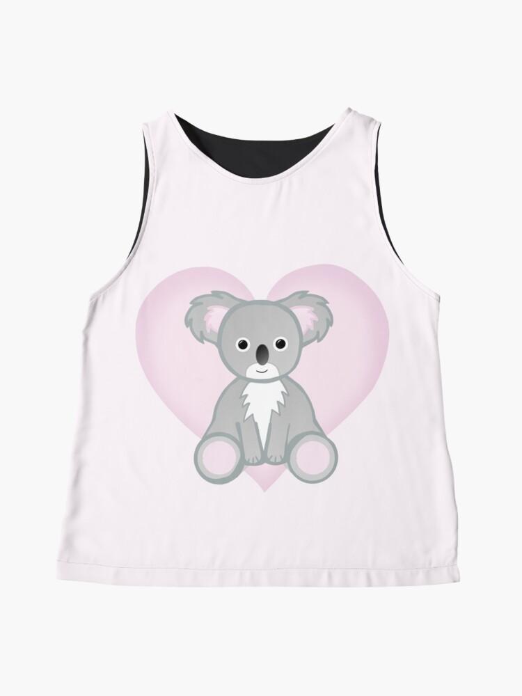 Alternate view of To a KOALITY Boyfriend - Koala - Valentine's Day Pun - Anniversary Pun - Animal Pun - Cute - Adorable - Birthday Pun - Australia Sleeveless Top