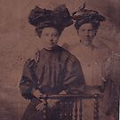 Great Grandmother with sister ? 1890's1900 by cdcantrell